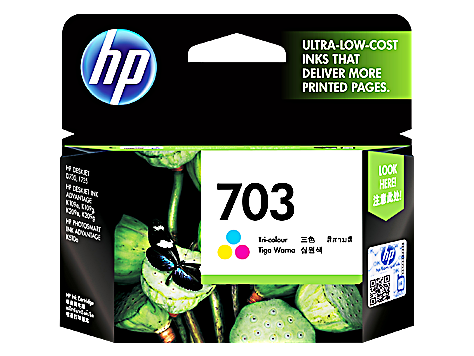 HP INK 703 TRICOLOR (แท้) CD888A