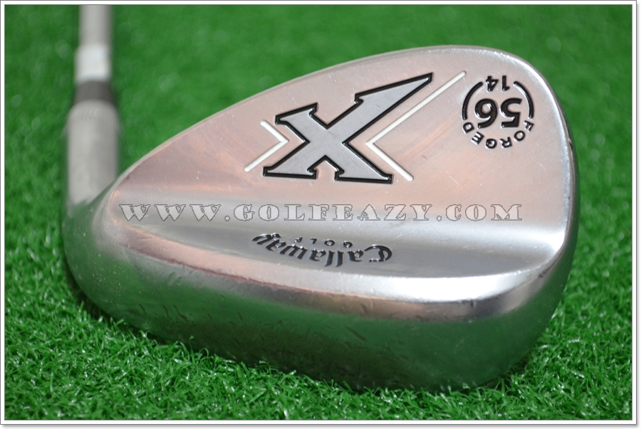 CALLAWAY X-FORGED CHROME 56* SAND SW FLEX WEDGE