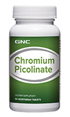 GNC Chromium Picolinate 200 จีเอ็นซี โครเมียม พิโคลิเนต 90 Tablets Code: 576166 เลขทะเบียน อย. 10-3-02940-1-0167