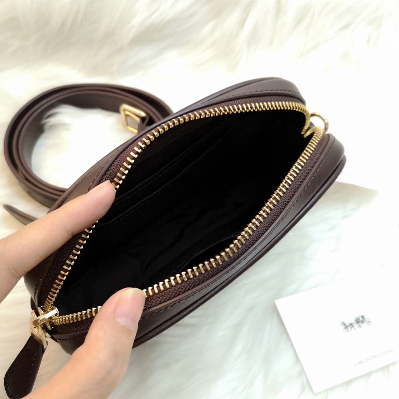 dd2aeae7f0a8 COACH F38678 CONVERTIBLE BELT BAG WITH QUILTING - Little costume ...