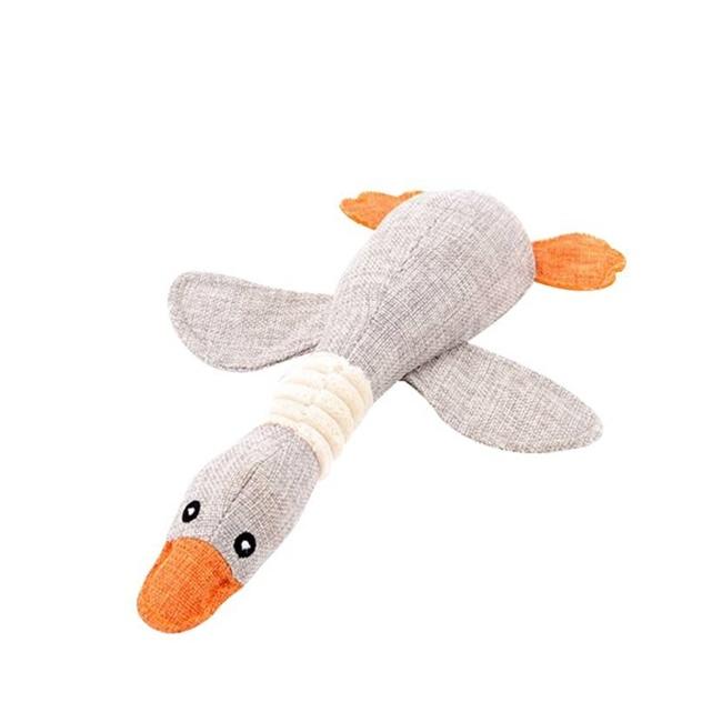 ของเล่นตุ๊กตาห่าน เคี้ยวสนุกราคาส่ง(ชิ้นละ 159 บาท)เทา