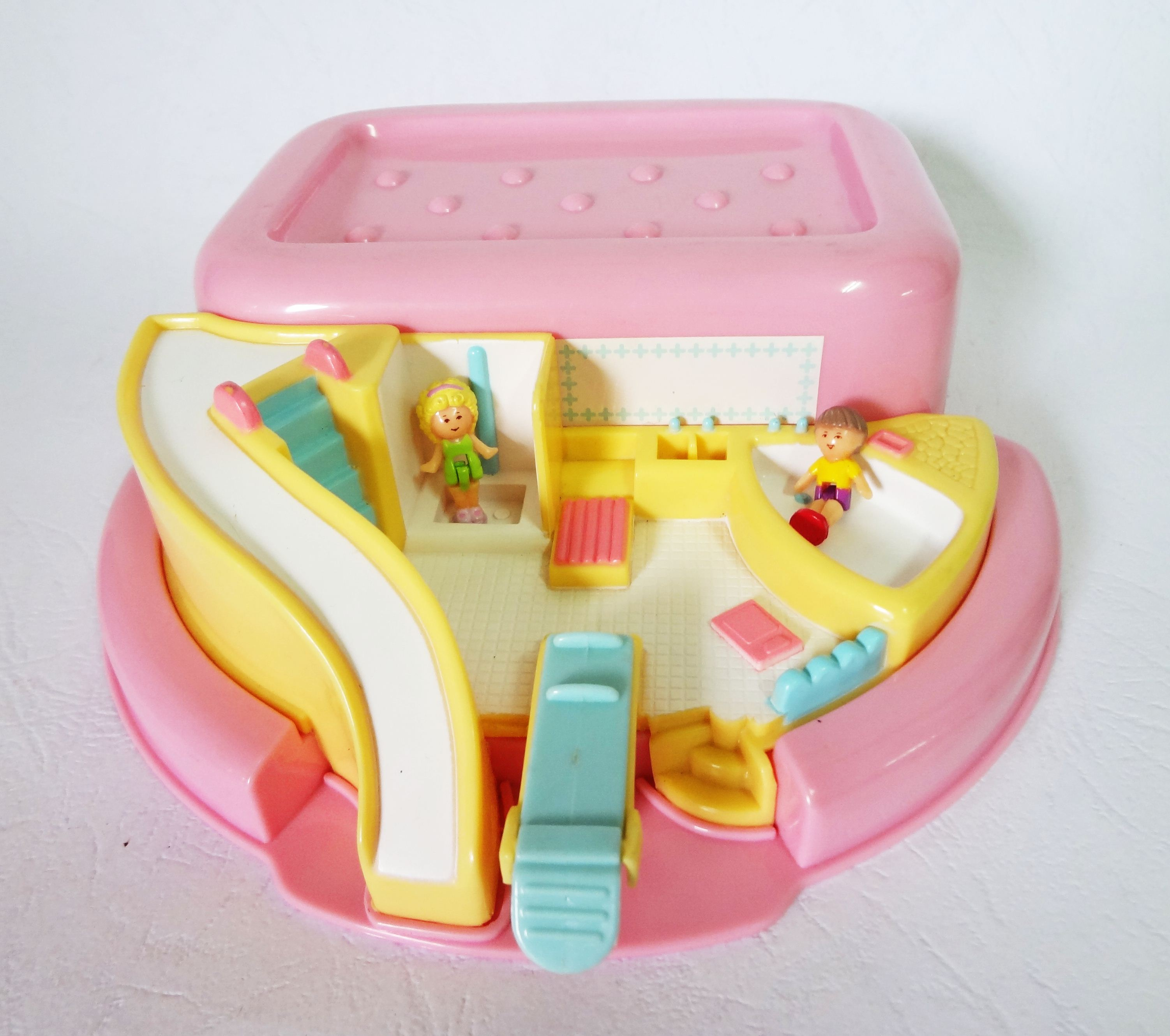 Polly Pocket : Bathtime Soap Dish Play set