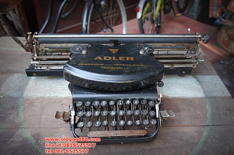 เครื่องพิมพ์ดีดadler รหัส3860ad