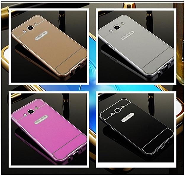 (025-193)เคสมือถือซัมซุง Case Samsung Galaxy J7(2016) เคสกรอบโลหะพื้นหลังอะคริลิค