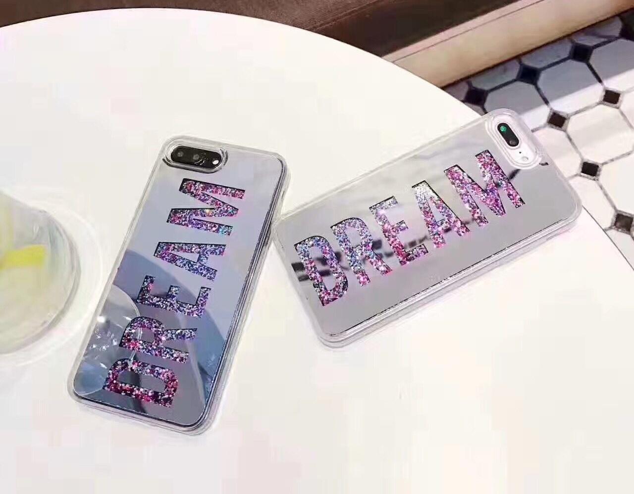 (436-400)เคสมือถือไอโฟน Case iPhone7 Plus/iPhone8 Plus เคส Glitter Dream