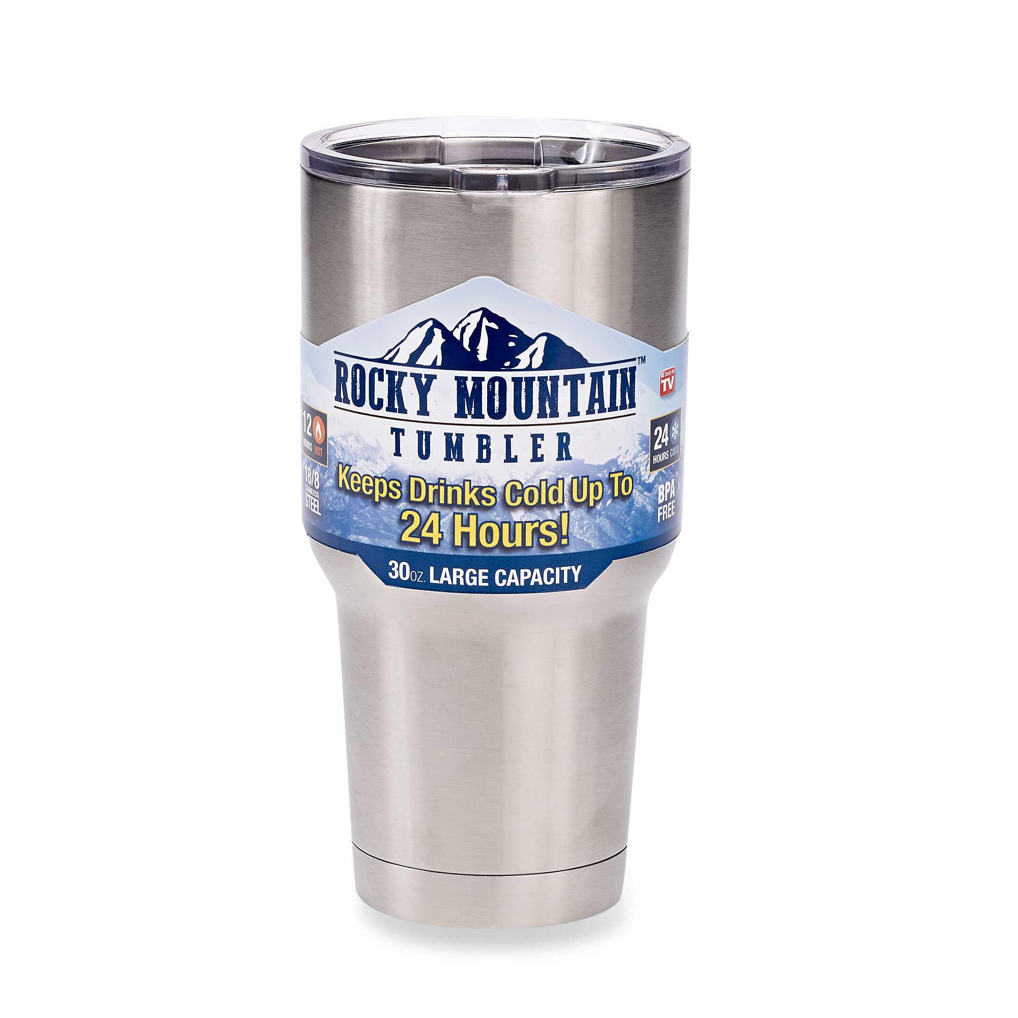 (669-001)แก้วน้ำเก็บความเย็นขนาด 30OZ Stainless Steel 304 ยี่ห้อ Rocky MOUTAIN