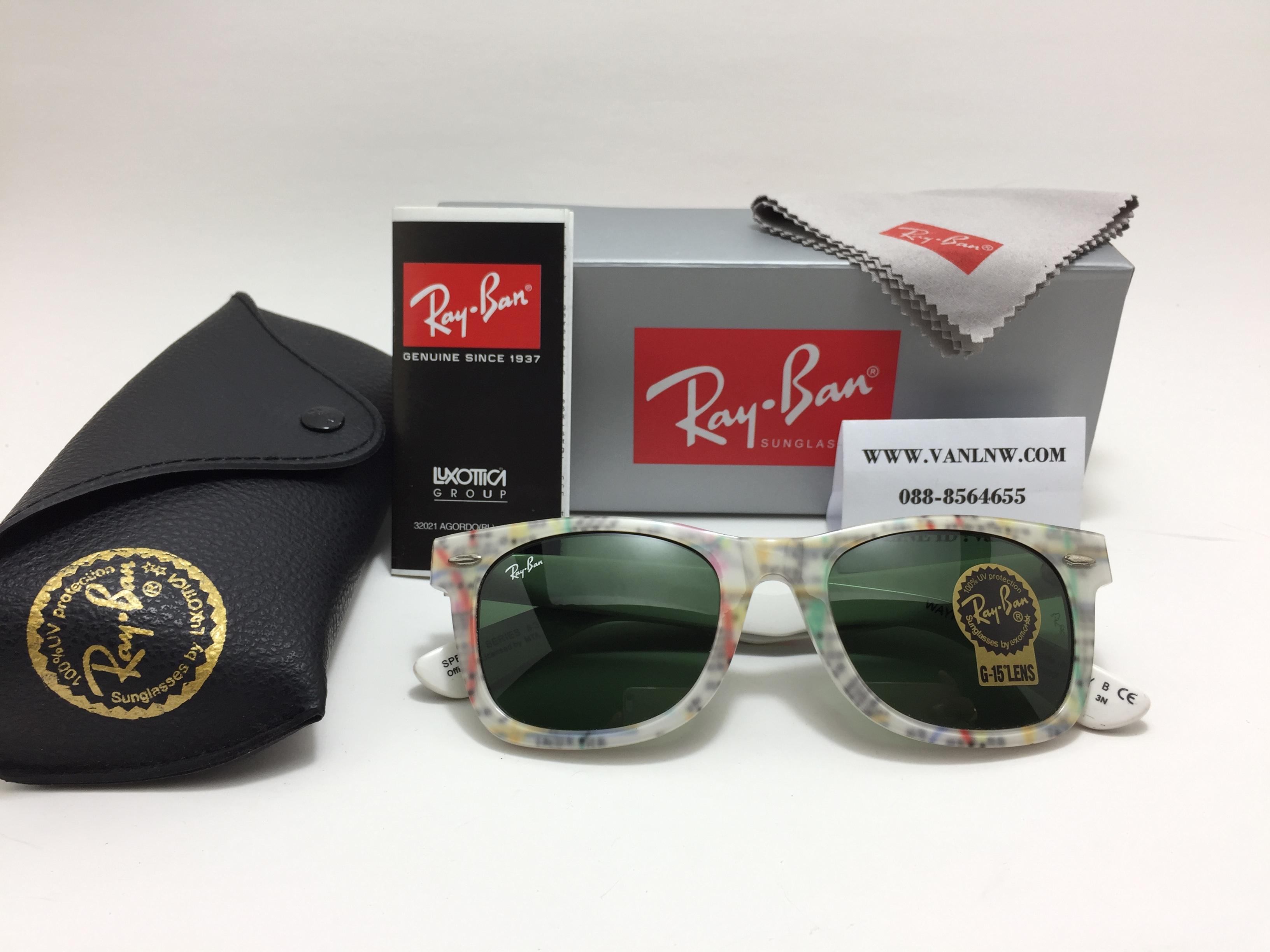 แว่นกันแดด RB2140 Wayfarer 1033 50-22-3N < SPECIAL SERIES #3 >