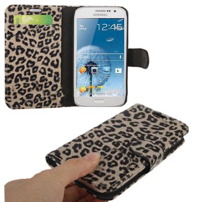 Case เคส Ecru Leopard Samsung Galaxy Grand Duos (i9082)