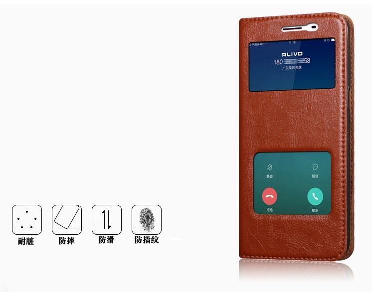 (603-004)เคสมือถือซัมซุง Case Samsung Galaxy C5 เคสฝาพับตั้งโทรศัพท์ได้ สไตล์หนัง cowhide