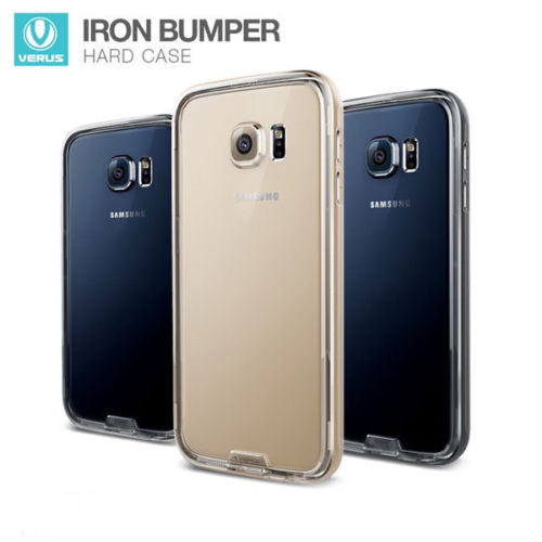 Verus : IRON BUMPER Metal Frame Case Cover For Samsung Galaxy S6
