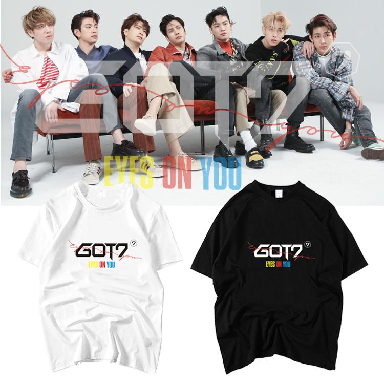 เสื้อยืด GOT7 Eyes On You Logo -ระบุสี/ไซต์-