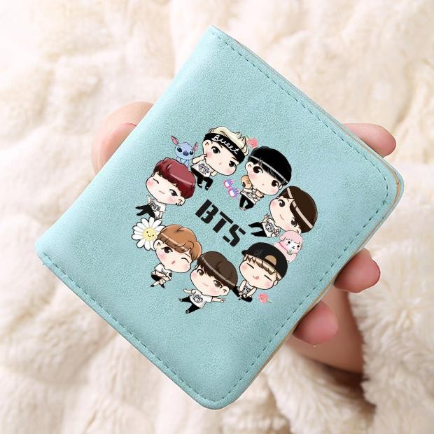 กระเป๋าสตางค์ BTS CARTOON /B