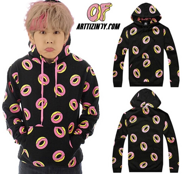 Hoodie Mark<JUST RIGHT>Black Sty.ODD FUTURE -ระบุไซต์-