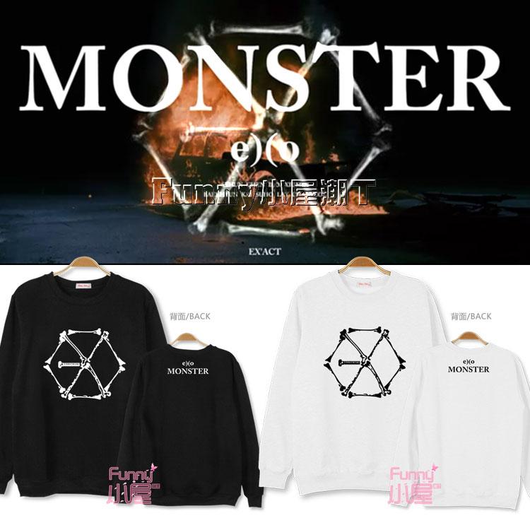 เสื้อแขนยา EXO EX'ACT Monster -ระบุสี/ไซต์-