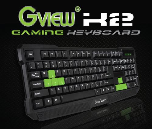 Gview K2 Gaming Keyboard