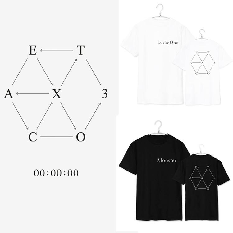 เสื้อยืด EXO EX'ACT Lucky one/Monster -ระบุสี/ไซต์-