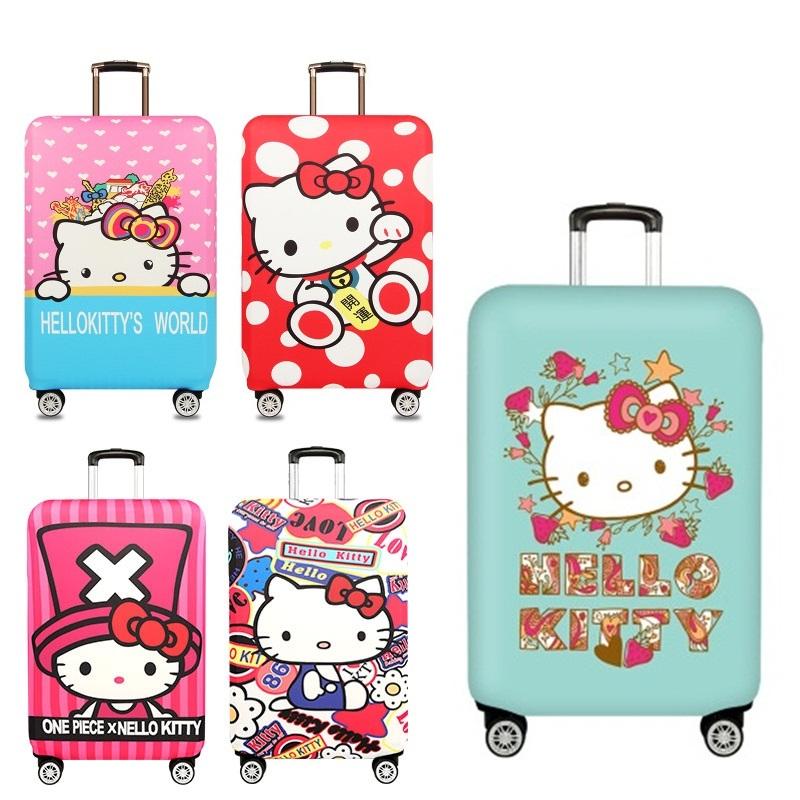 *Pre Order*ถุงหุ้มกระเป๋าเดินทางล้อ/ผ้ายืดพิมพ์ลาย ขนาด S,M,L,XL