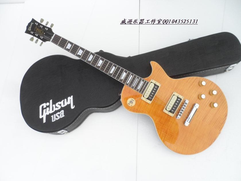 Pre Order Gibson stander LP นกีตาร์ไฟฟ้า สีเหลืองอำพัน แค่ชื่อก็บ่งบอกถึงคุณภาพ