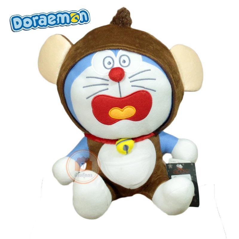 ตุ๊กตาโดเรม่อนใส่ชุด10นิ้ว ปีลิง