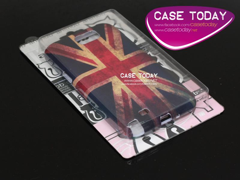 เคส Note 2 Hard Case สไตล์วินเทจ