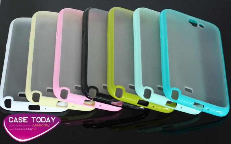 เคส Note 2 Hard Case พลาสติกแบบนิ่ม