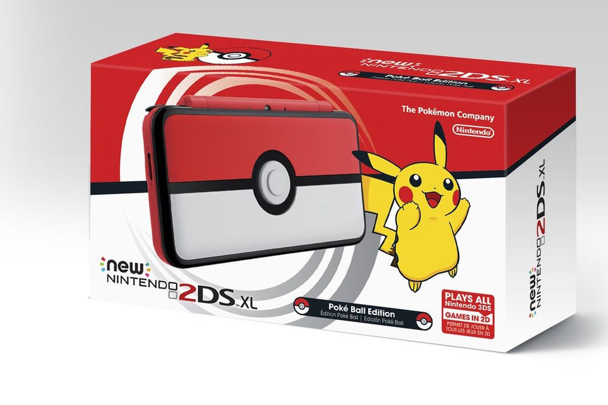 New Nintendo 2DS XL Pokéball Edition (Asia/US)