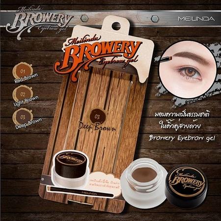 Mei Linda Browery Eyebrow Gel เจลเขียนคิ้ว บราวเวอรี่