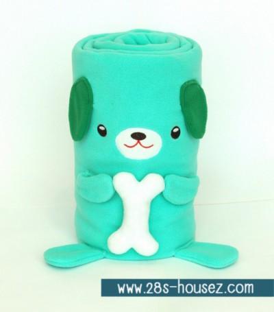 ผ้าห่มม้วน สุนัข (Dogburi) ยี่ห้อ Minojo ## พร้อมส่งค่ะ ##