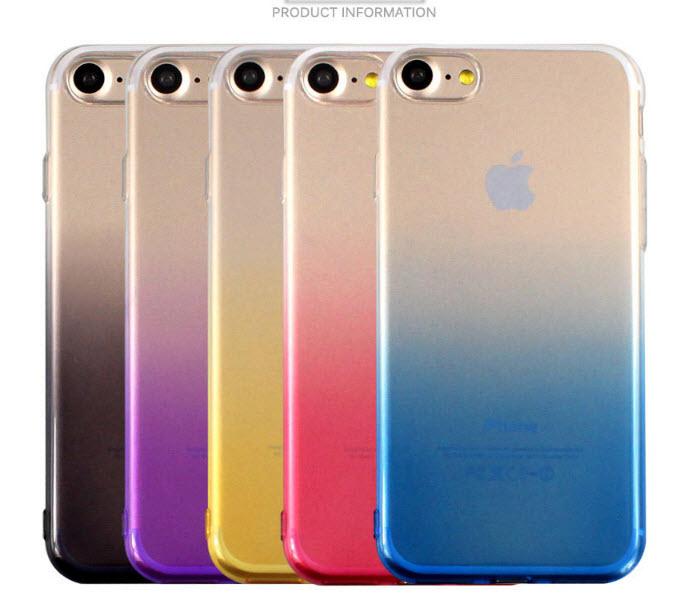 เคสไอโฟน 7 (TPU Case) สีชมพู