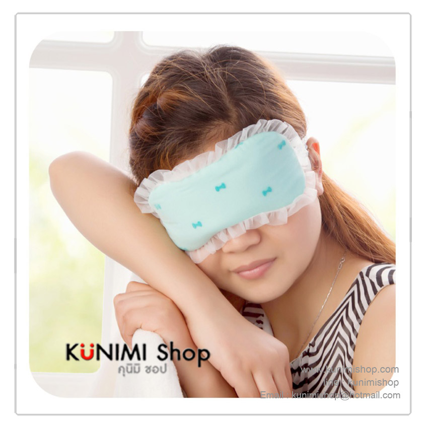 GR022 ที่ปิดตาเวลานอน พร้อมเจลเย็นสำหรับประคบช่วยให้ตาผ่อนคลาย สไตล์เรียบหรู