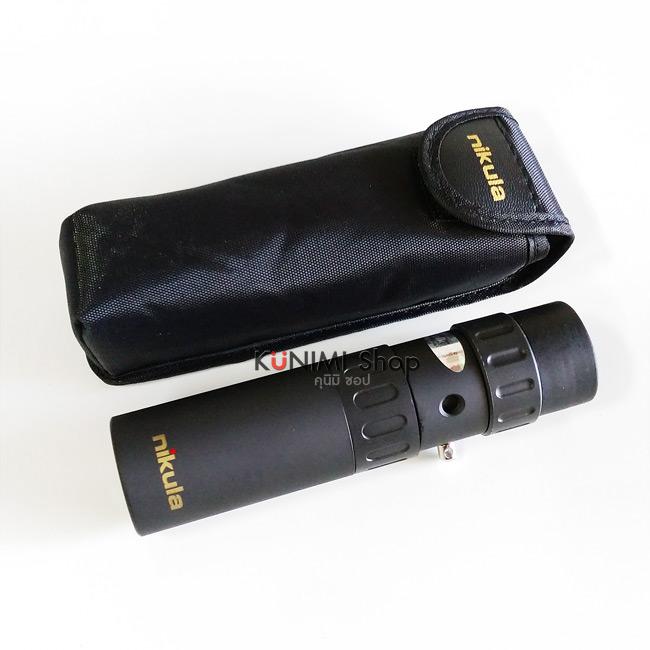 TL001 กล้องส่องทางไกลตาเดียว Nikula ซูมได้ 10-30 เท่า (10-30x25mm)