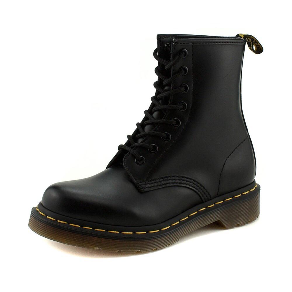 รองเท้าหนัง Dr.Martens 1460 Black Smooth Men Women Size 39 - 45 พร้อมกล่อง