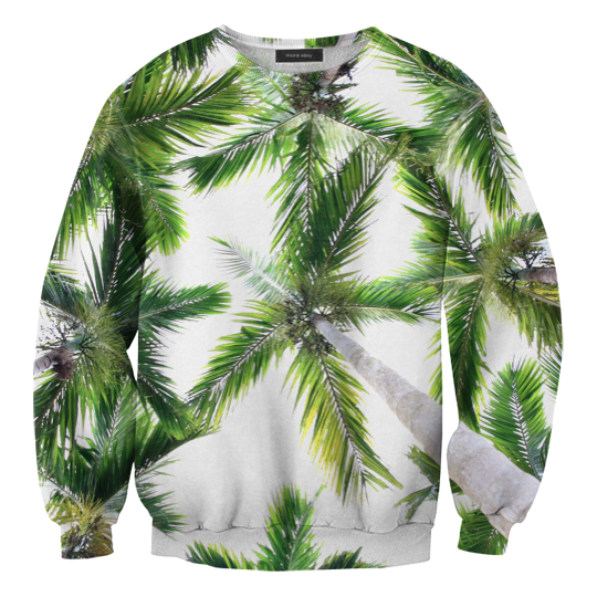 Pre-Order เสื้อยืดพิมพ์ลาย MR.GUGU & Miss GO : Palm Sweater