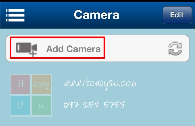 Add IP Camera