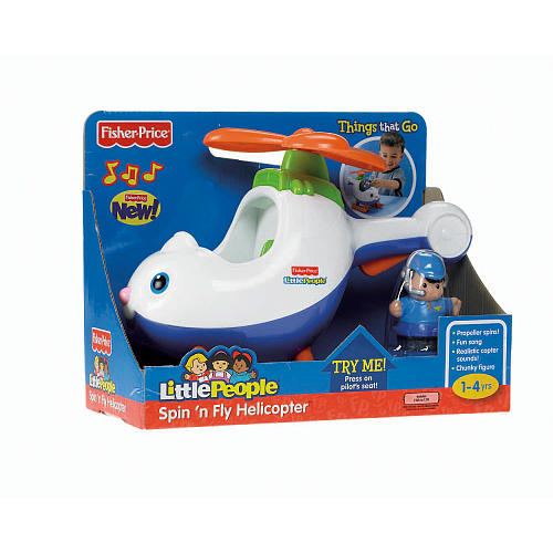 zFisher Price Little People Spin Fly Helicopter.