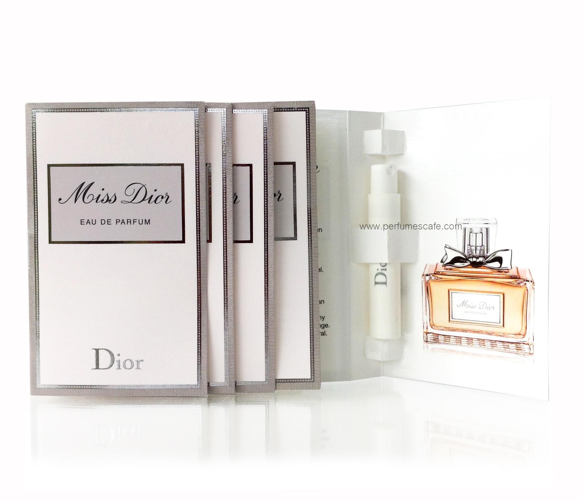 น้ำหอม Miss Dior Eau de Parfum ขนาดทดลอง 1.2ml