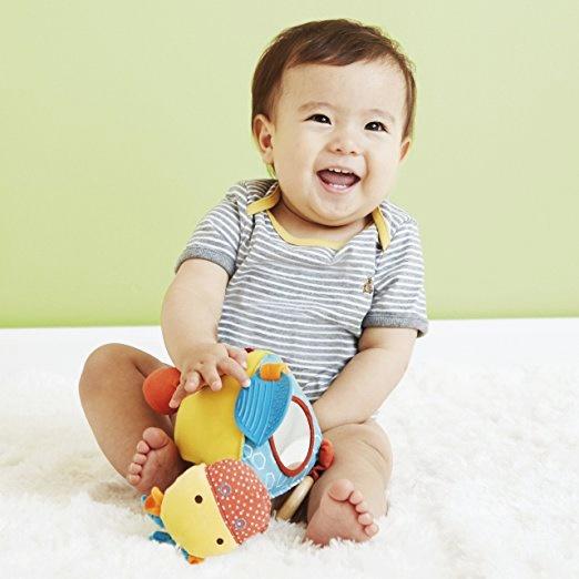 ตุ๊กตาเด็กตัวใหญ่มาก ของเล่นเด็กทารก Skip Hop Giraffe Safari Activity Toy ของเล่นเสริมพัฒนาการเด็ก พร้อมส่ง