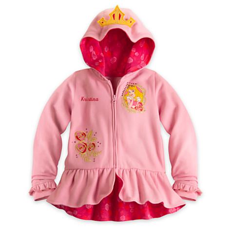 Disney Aurora Hoodie Disney for Girls ของแท้ นำเข้าจากอเมริกา (Size:4)