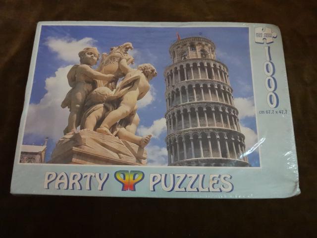 จิ๊กซอว์ 1000 ชิ้น Pisa Italy