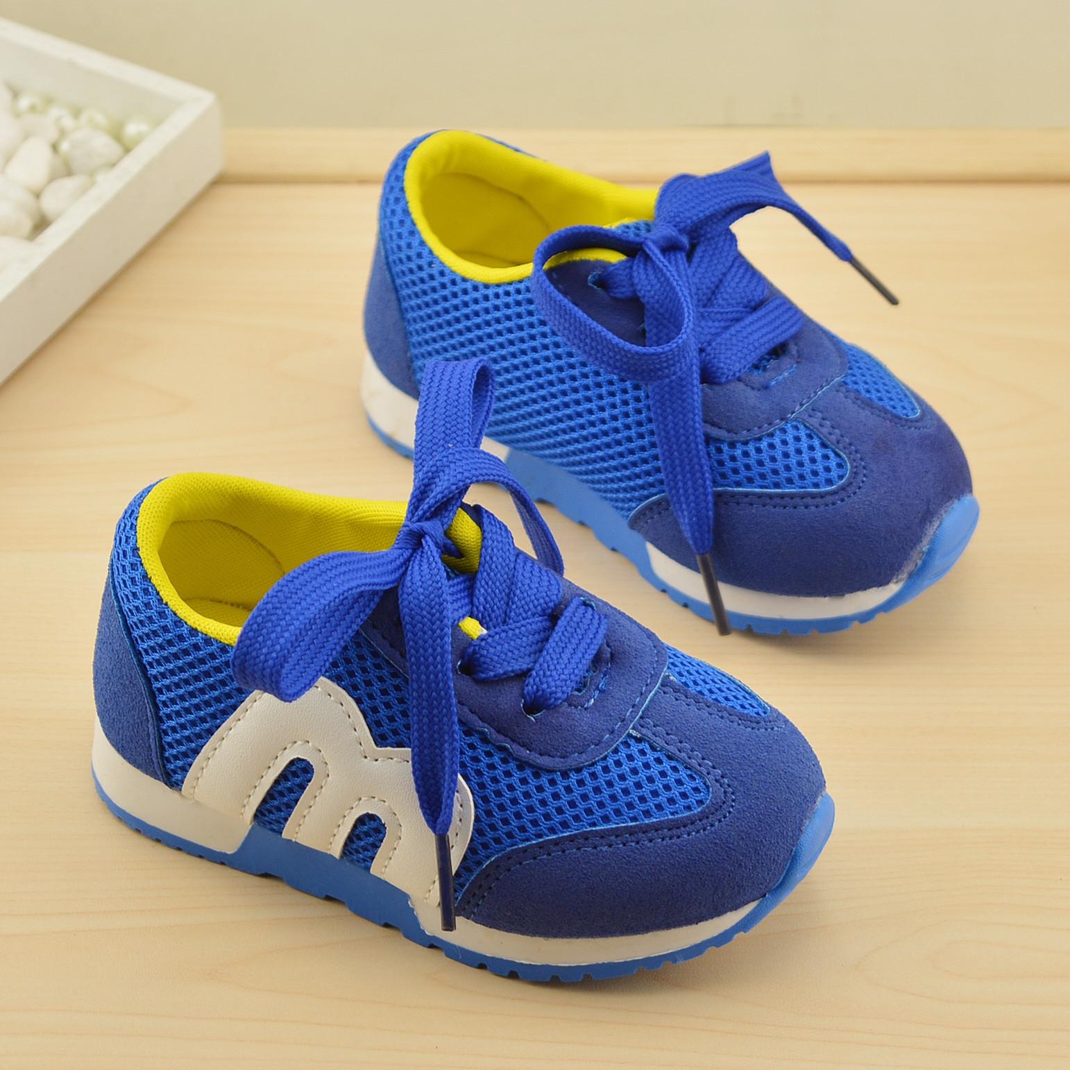 รองเท้าเด็ก พื้นยางกันลื่น รองเท้าแฟชั่นเกาหลี รองเท้ากีฬาเด็ก สไตล์สปอร์ต M รองเท้าเด็กชาย รองเท้าเด็กหญิง รองเท้าเด็กเล็ก อายุ 1 - 4 ขวบ พร้อมส่ง