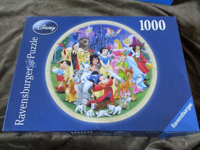 จิ๊กซอว์ 1,000 ชิ้น Wonderful world of disney 1