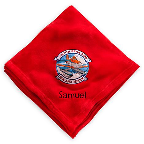 ผ้าห่ม Throw Blanket - Planes Fire Rescue