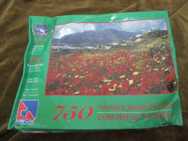 จิ๊กซอว์ 750 ชิ้น ทุ่งดอกไม้