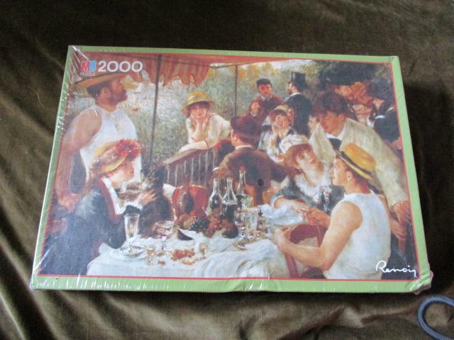 จิ๊กซอว์ 2,000 ชิ้น le dejeuner des canotiers
