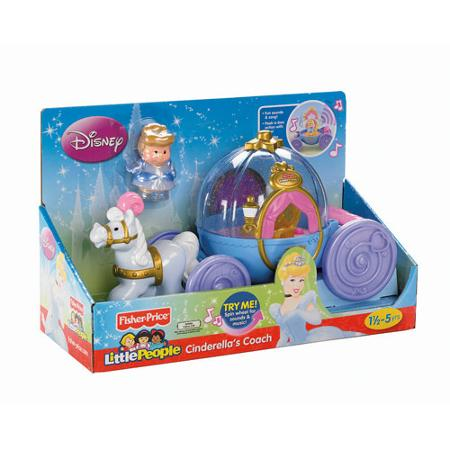 z Fisher Price Little People Disney Cinderella Coach