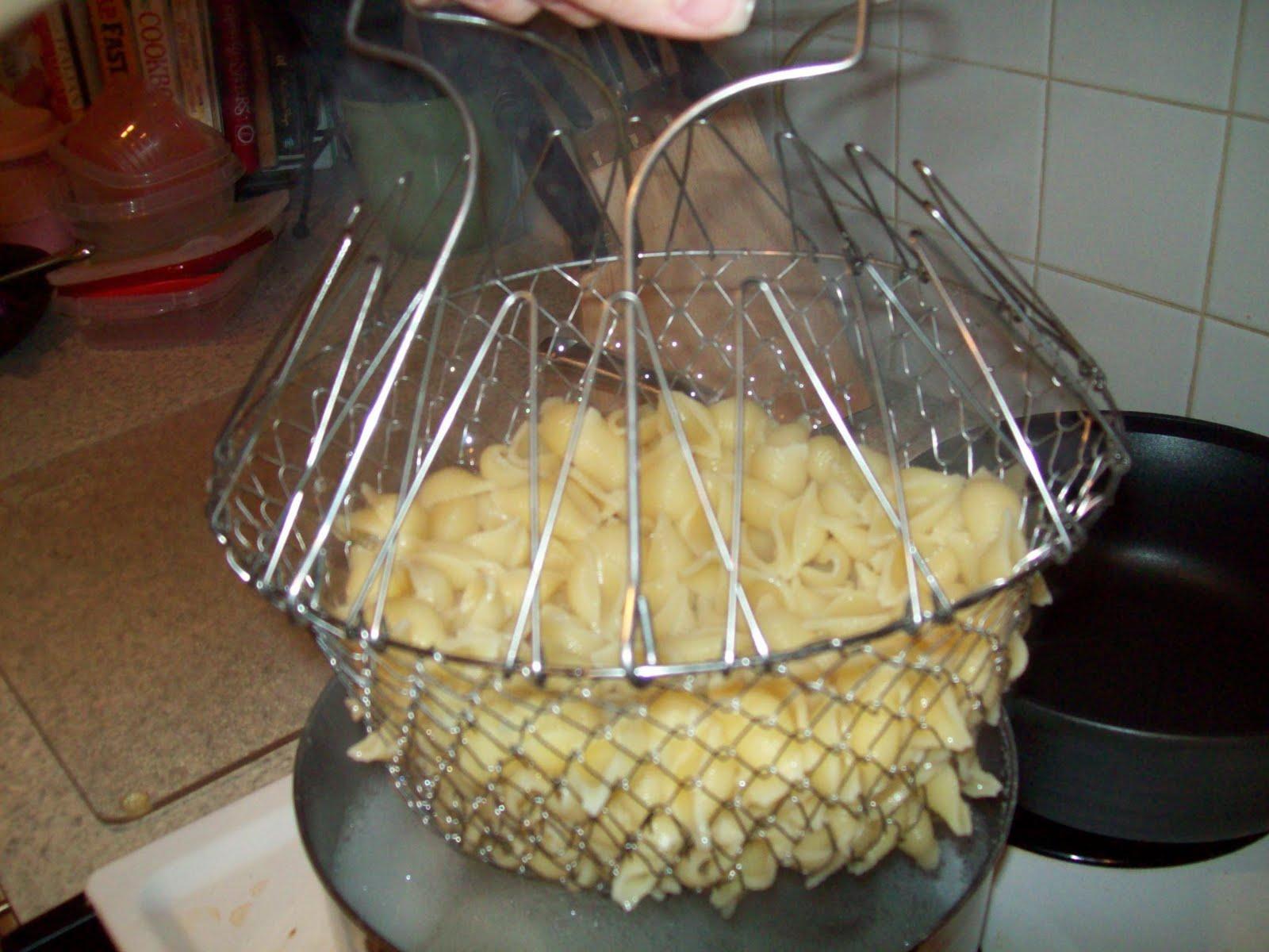 ตระแกรง Chef Basket(ดูในคลิป) สำหรับต้ม ทอด เอนกประสงศ์ สะดวกมั่กๆ