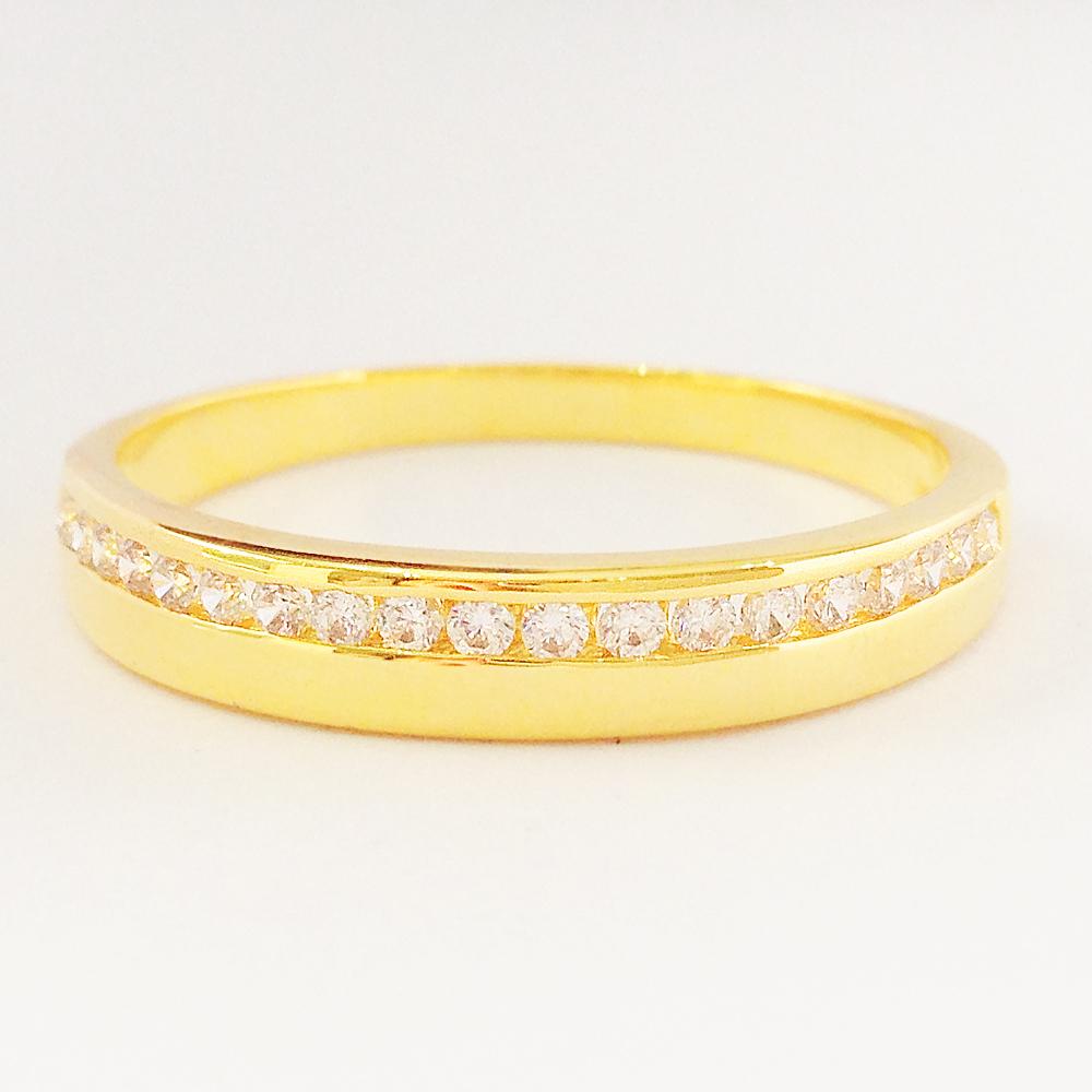 แหวนเพชร CZ รหัส R1505 size 53