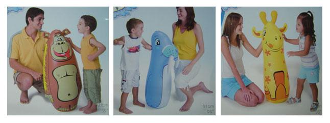 ตุ๊กตาล้มลุกยีราฟ ช้าง สิงห์โตทะเล