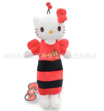 กระเป๋าใส่ดินสอปากกา ฮัลโหลคิตตี้ Hello kitty ขนาดยาว 26 ซม. * สูง ซม. ด้านบนมีช่องซิป 1 ช่อง