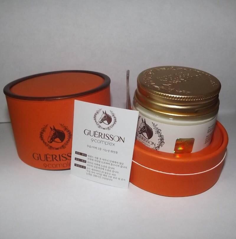(ส่งฟรีEMS)Guerisson 9 Complex Cream ครีมสกัดเข้มข้นจากน้ำมันม้า ลบเลือนริ้วรอย